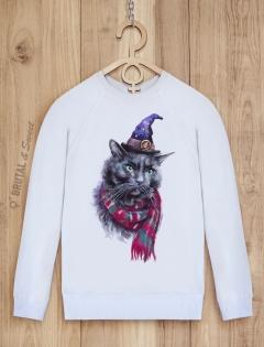 Свитшот с котом «Charming Cat»