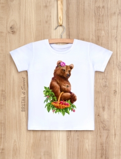 Детская футболка «Miss Bear kid»