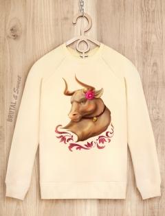 Семейные свитшоты с быками «Bull Family»