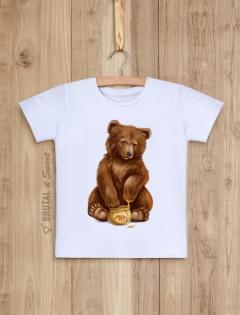 Детская футболка с медвежонком «Bear kid»