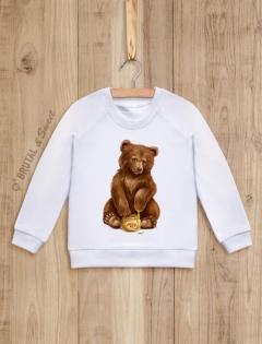 Детский свитшот с медвежонком «Bear kid»