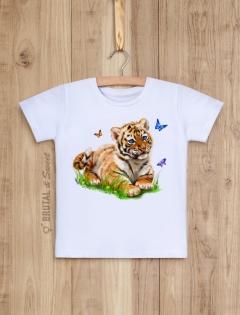 Детская футболка с тигренком «Tiger kid»