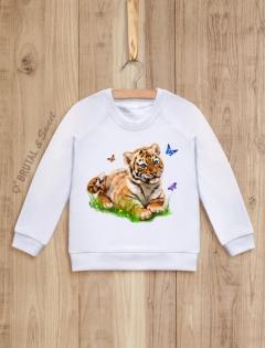 Детский свитшот с тигренком «Tiger kid»