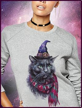 Свитшот Charming Cat